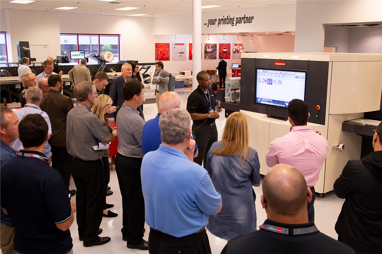 Nilpeter-SCREEN Open House opens eyes to Label Converters' future