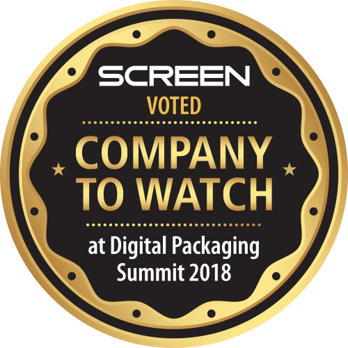 SCREEN Americas voted Company to Watch at Digital Packaging Summit 2018