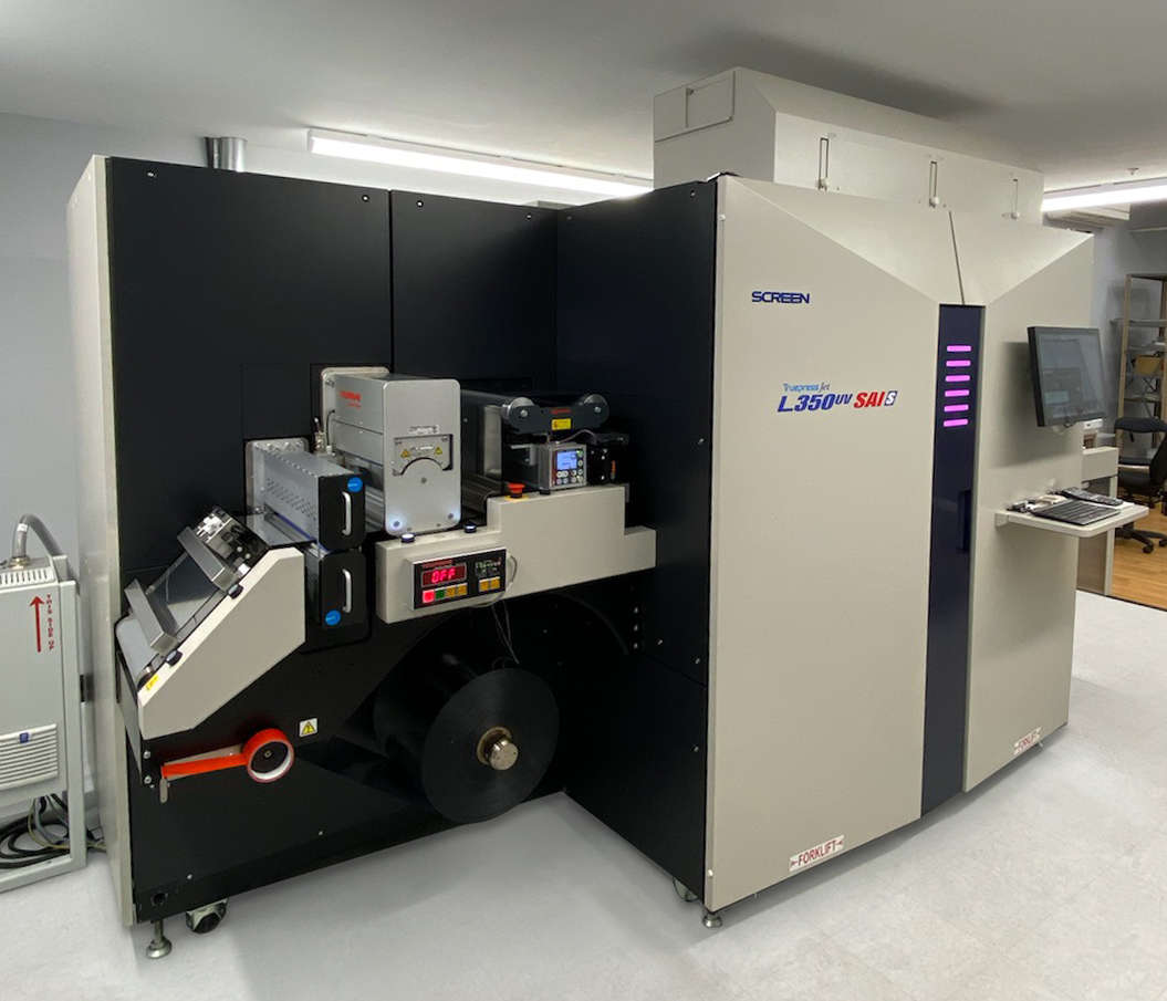 First USA-based Sale of the Truepress Jet L350UV SAI Series Sold to Lion Labels; Printer Turned to SCREEN Americas to Increase Capacity