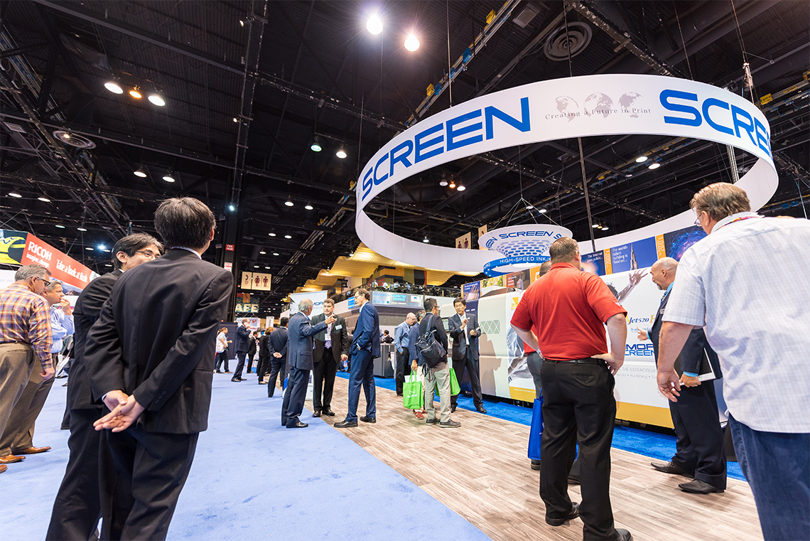 SCREEN America's 50 Years of Success and Innovation take Center Stage at PRINT 17