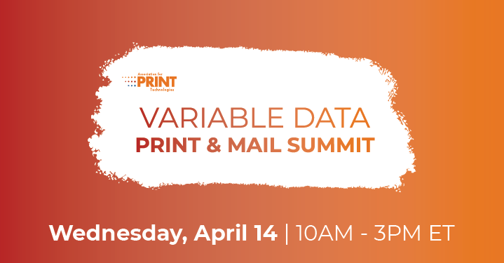 SCREEN Americas to Sponsor Virtual Summit on Direct Mail and Variable Data Printing; Event to be Held April 14, 2021