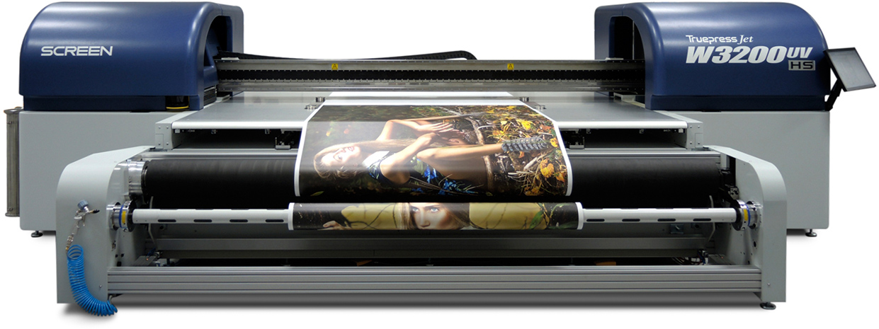 Enhancements to Screen's Wide-Format Flatbed Platform Target Finer Print, Faster Throughput at SGIA Expo 2015