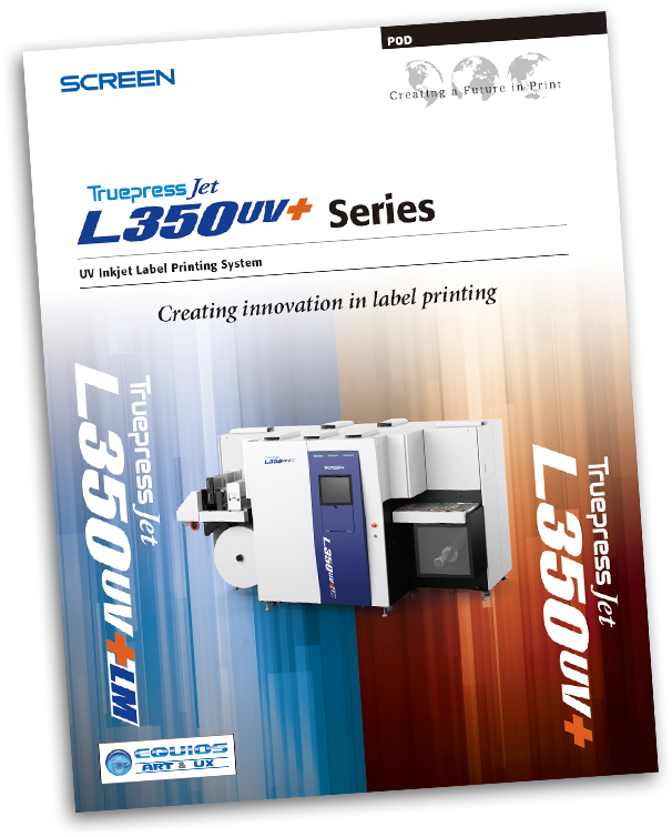 Truepress Jet L350UV+ and L350UV+LM Literature