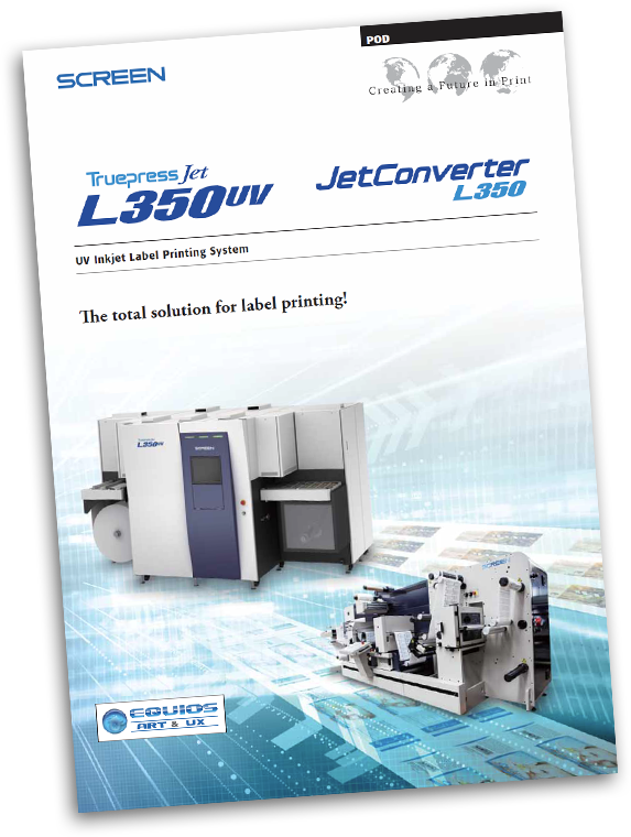 Truepress Jet L350UV Literature